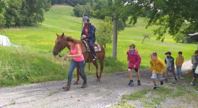 A cavallo su sentieri dell'Appennino